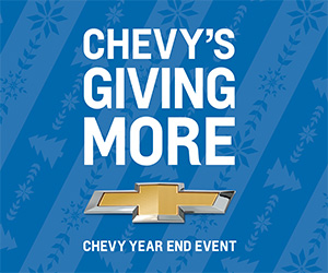 Chevy Year End Event