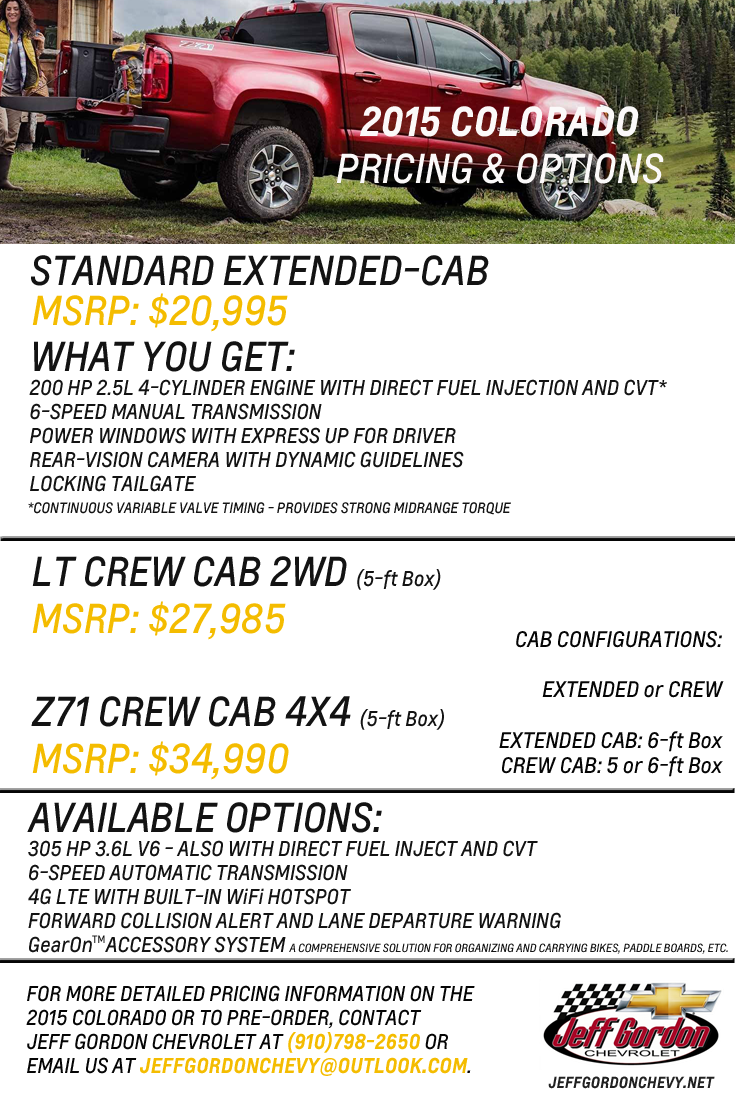 Colorado Pricing Options PNG