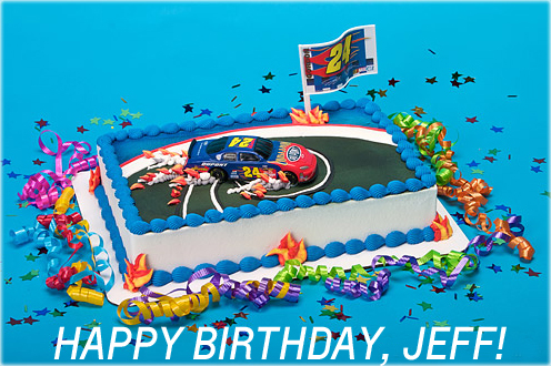 Happy Birthday Jeff Motorcycle Cake