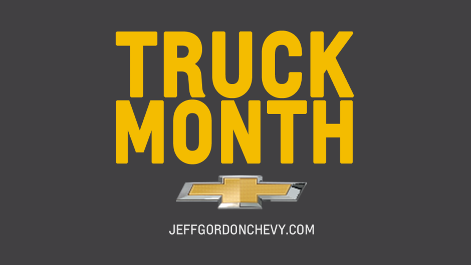 Chevy Truck Month - Logo - 2014