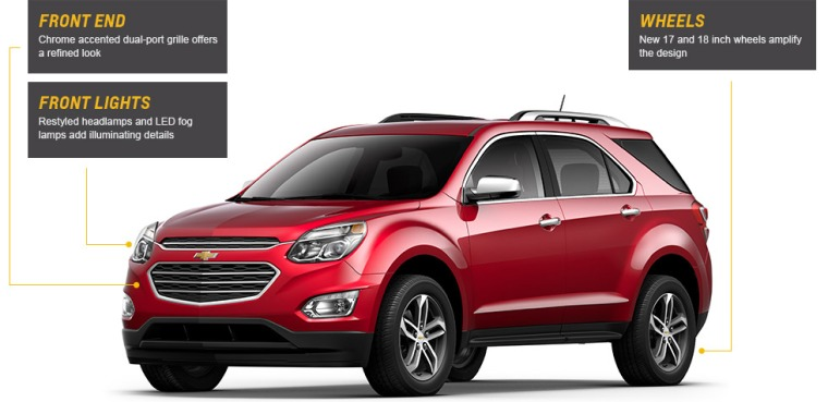 2016-Chevrolet-Equinox-suv-updates-Front-Jeff-Gordon-Chevrolet-Wilmington-NC