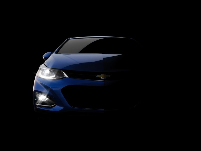 2016 Chevrolet Cruze - Teaser Photo