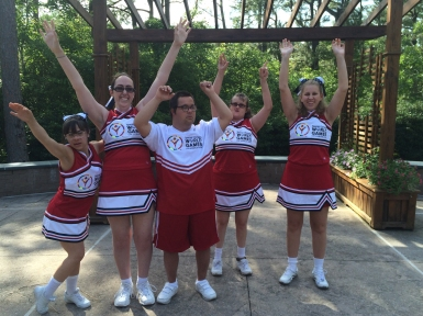 New Hanover County Special Olympics Cheer Team