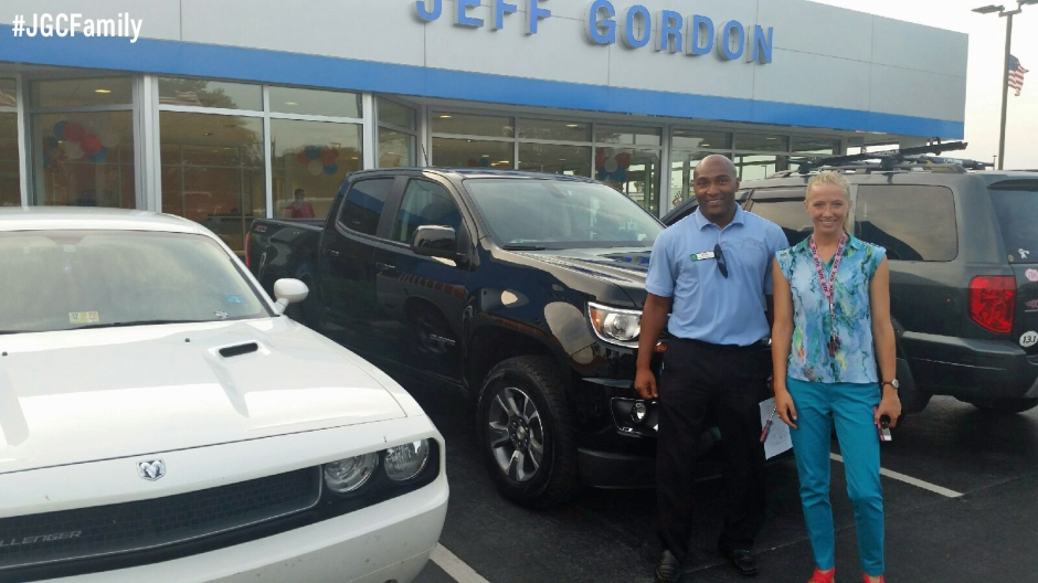 Jeff Gordon Chevrolet >> Zatha S New 2015 Chevrolet Colorado Jgcfamily Jeff Gordon