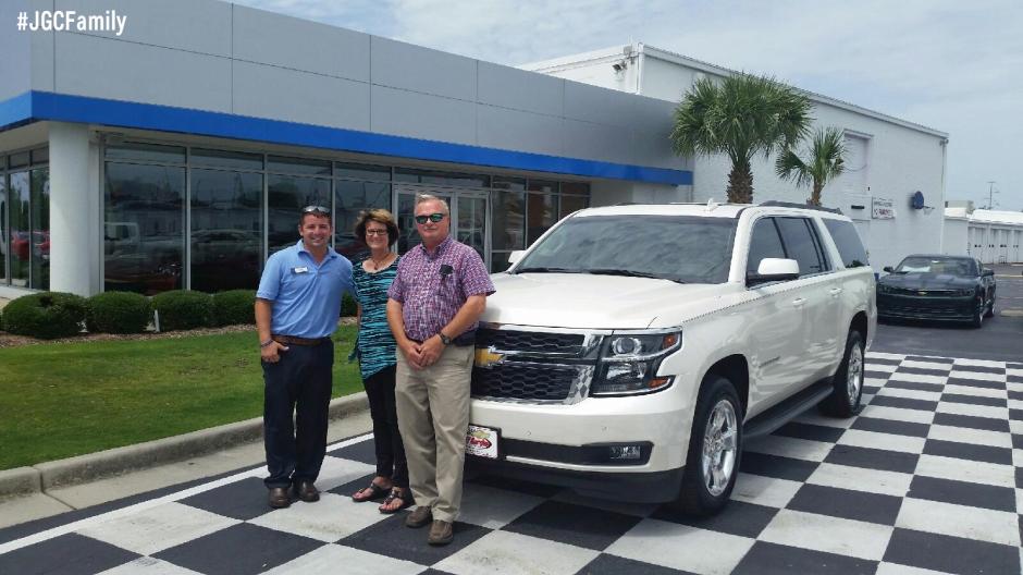 Jeff Gordon Chevrolet >> The Bowen Family S New 2015 Chevrolet Suburban Jgcfamily Jeff