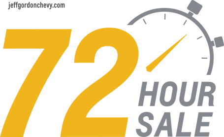 72 Hour Sale - Jeff Gordon Chevrolet Wilmington - July 2015