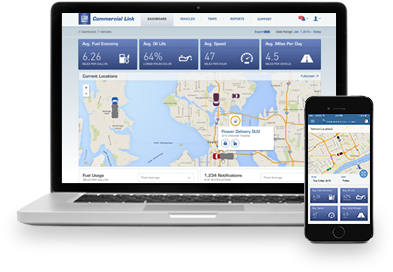 OnStar Commercial Link for Small Business Owners - Vehicle Maintenance
