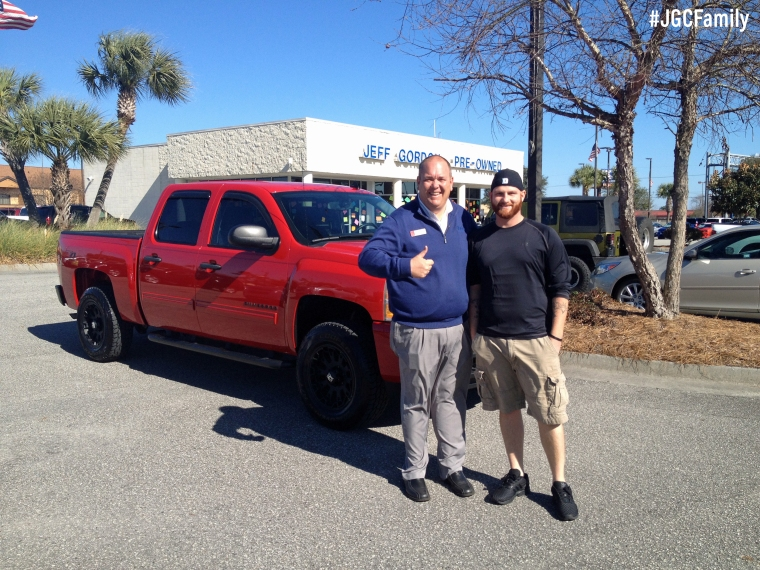 012916 - JT - 2011 Silverado 1500 Crew Cab - Jeep Wrangler - Jeff Gordon Chevrolet PreOwned - Wilmington NC - 158199