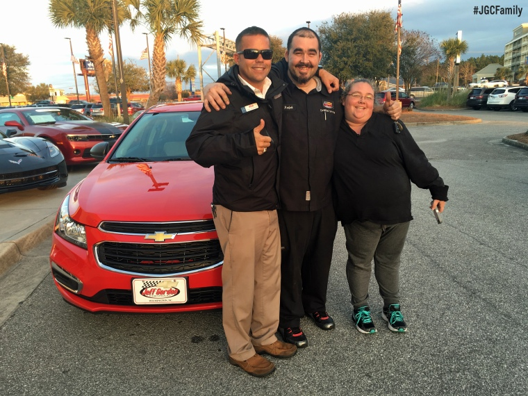 020216 - CW - 2015 Chevrolet Cruze - Jeff Gordon Chevrolet PreOwned - Wilmington NC