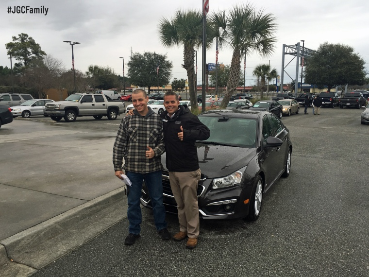 020616 - CW - 2015 Chevy Cruze Limited - First Time Buyer - Jeff Gordon Chevrolet PreOwned - Wilmington NC 268326