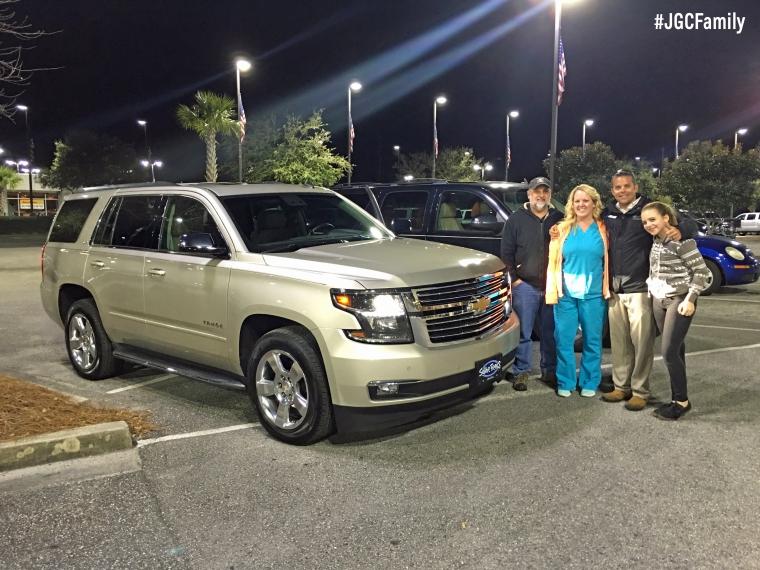 021916 - CW - Certified 2015 Chevy Tahoe LTZ - 2008 Suburban - Jeff Gordon Chevrolet PreOwned - Wilmington NC - 269096