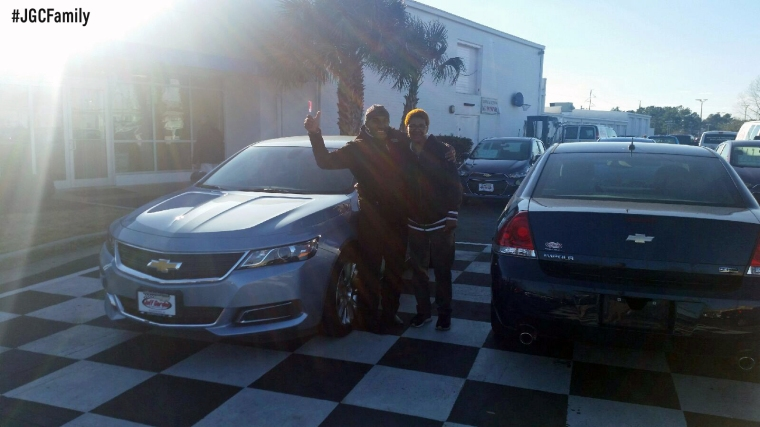 022616 - SW - 2015 Chevrolet Impala - Jeff Gordon Chevrolet - Wilmington NC - 202488