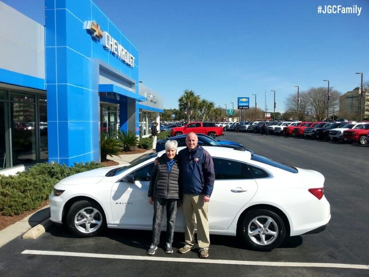 022716 - BK - 2016 Chevrolet Malibu - Pontiac G8 - Jeff Gordon Chevrolet - Wilmington NC - 202488