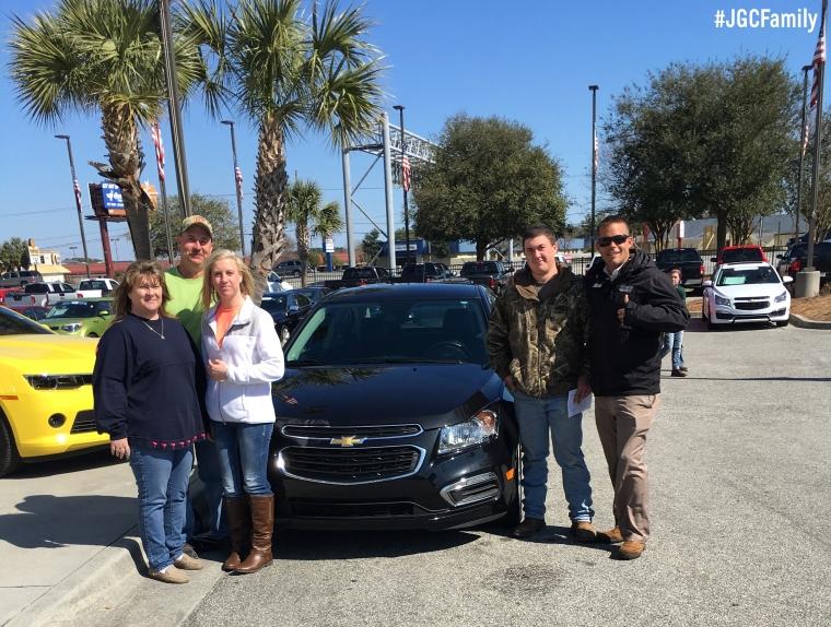 022716 - CW - 2015 Chevrolet Cruze - Jeff Gordon Chevrolet PreOwned - Wilmington NC -