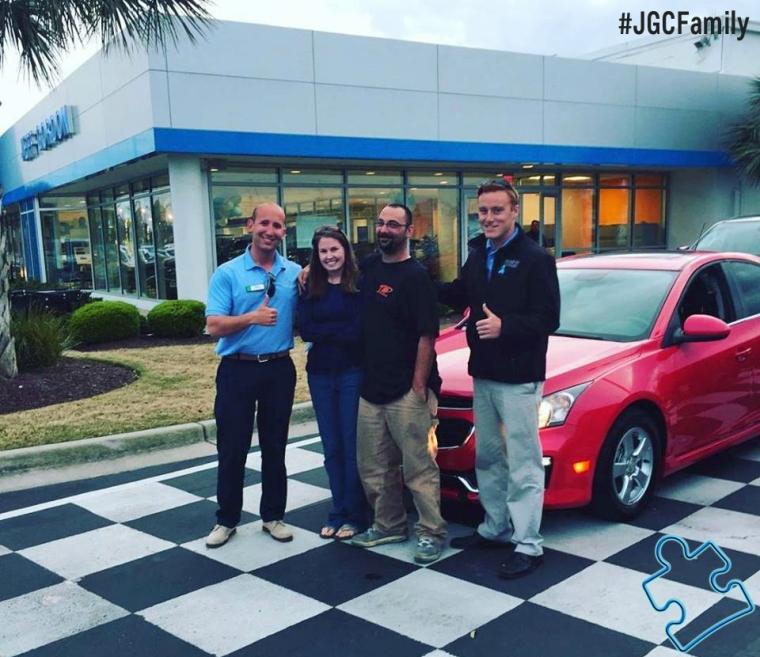 040616 - RS JM - 2015 Chevrolet Cruze - Jeff Gordon Chevrolet - Wilmington NC - 271602