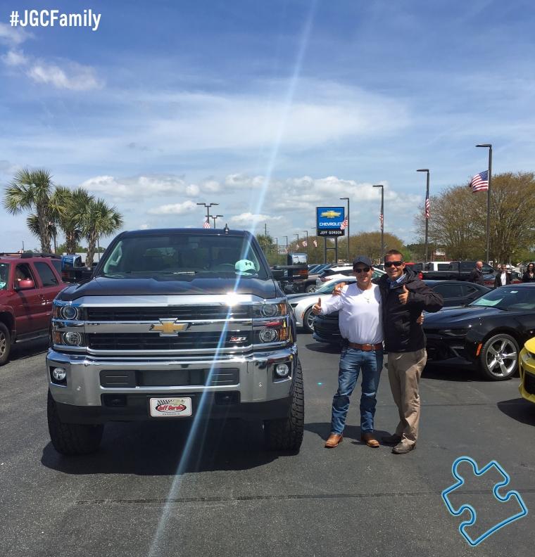 041616 - CW - New 2016 Chevrolet Silverado 2500HD Z71 Diesel - 2013 Silverado 1500 - Jeff Gordon Chevrolet - Wilmington NC - Clinton NC - 232097