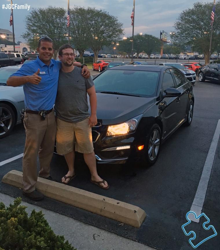 041916 - CW - 2016 Chevrolet Cruze Limited - 2011 Chevy Camaro - Jeff Gordon Chevrolet - Wilmington NC - 190416