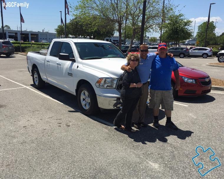 042516 - CW - 2015 RAM 1500 Truck - Jeff Gordon Chevrolet PreOwned - Wilmington NC -