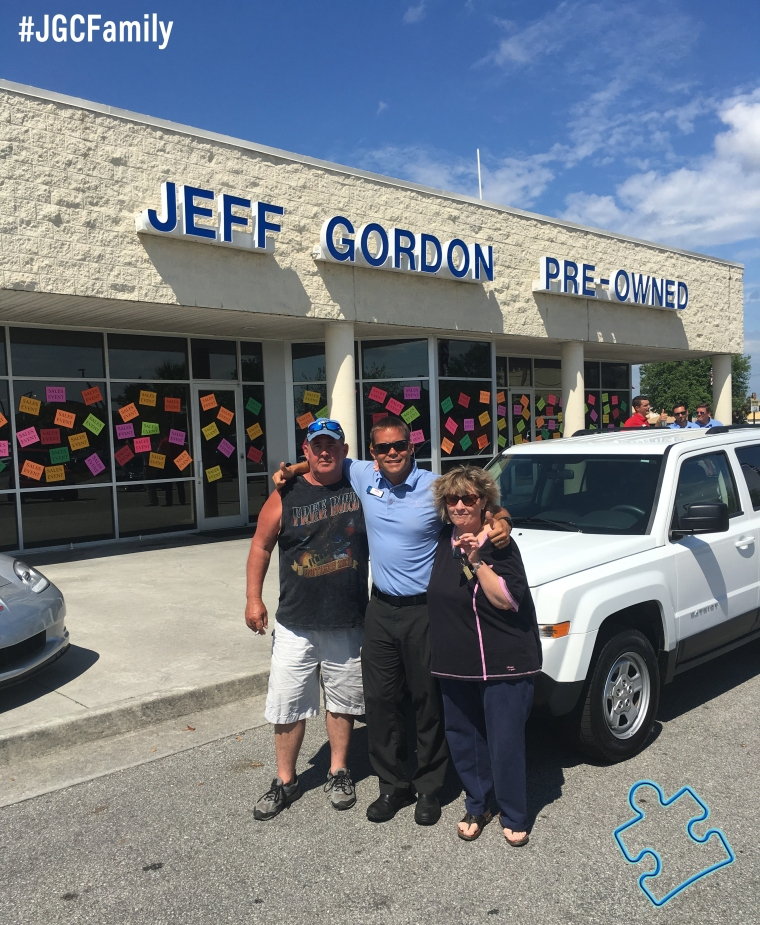 042816 - CW - 2014 Jeep Patriot - 2013 Chevy Sonic - Jeff Gordon Chevrolet PreOwned - Wilmington NC - 272705