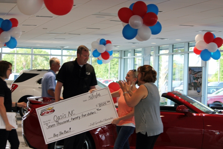 Jeff Gordon Chevrolet - Oasis NC Wilmington, NC Autism Awareness Month Fundraiser 12