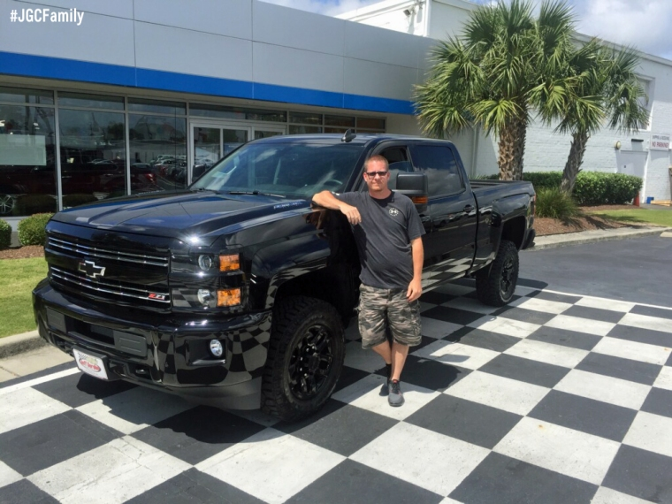 052816 - RB - 2016 Chevrolet Silverado 2500HD Midnight Edition - 2014 Silverado 1500 - Jeff Gordon Chevrolet - Wilmington NC - 228481
