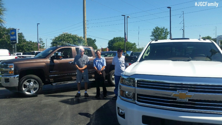 061316 - PH - Father - Son 2016 Silverado 2500HD - Jeff Gordon Chevrolet - Chevy Truck Month - Wilmington NC -