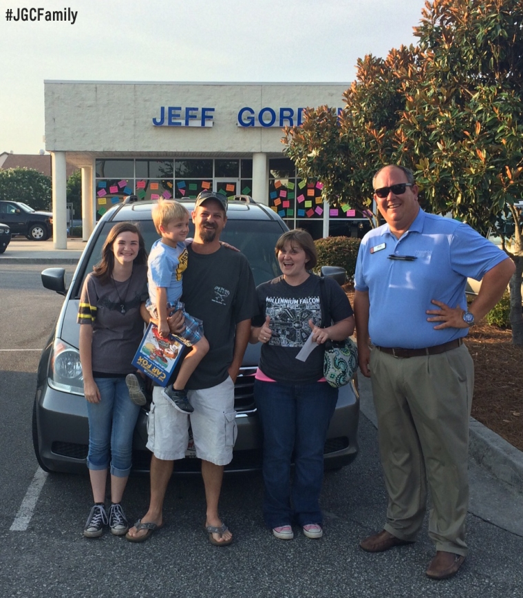 062316 - JT - Used 2009 Honda Odyssey - Jeff Gordon Chevrolet PreOwned - Southport NC - Wilmington NC - 275758