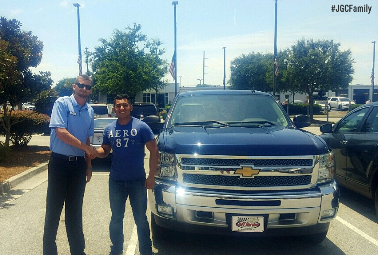 070916 - KD - 2012 Chevrolet Silverado - 2001 Ford Mustang - Jeff Gordon Chevrolet PreOwned - Wilmington NC - Camp Lejeune NC - USMC - 276640