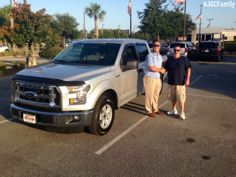 072916 - AL - 2015 Ford F-150 Crew Cab - Jeff Gordon Chevrolet PreOwned Trucks - Hampstead NC - Wilmington NC - 206702