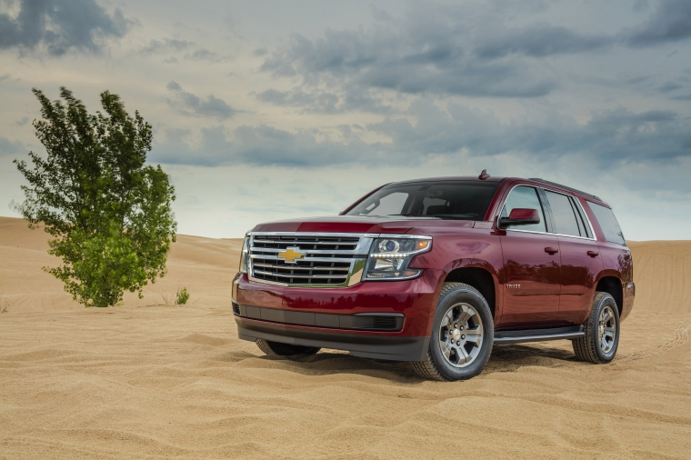 New for 2018, Tahoe LS models are offered with a Custom Edition