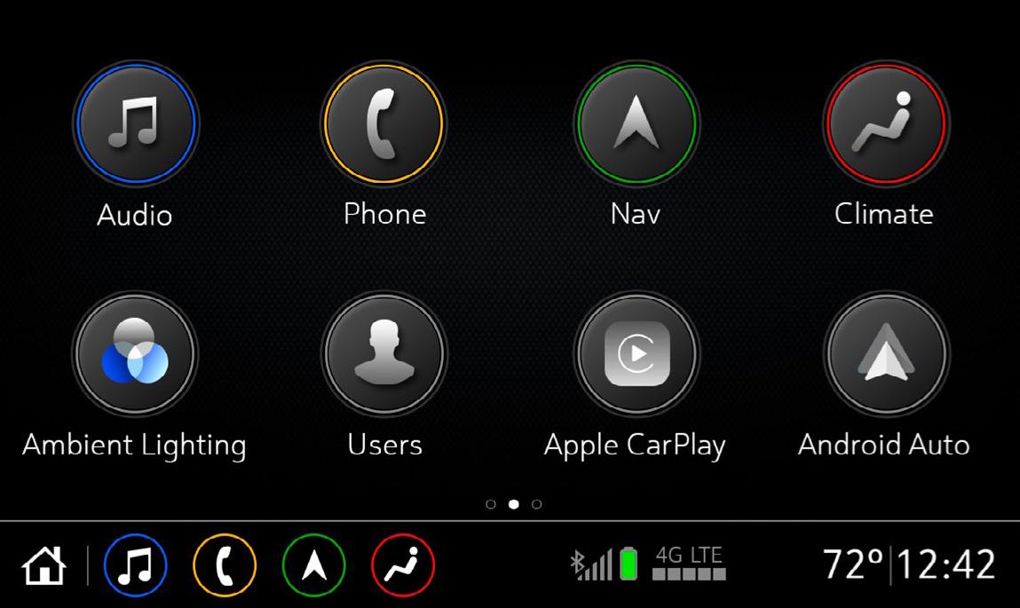 8-Inch Diagonal Touchscreen
