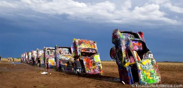 cadillac ranch jeff gordon chevy summer of chevy