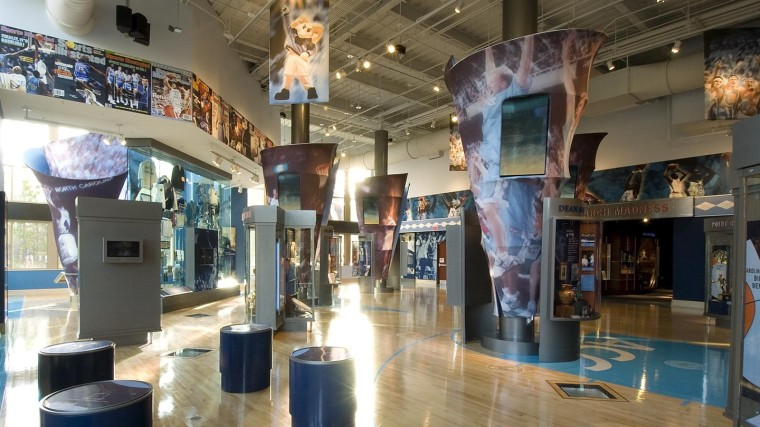 carolina basketball museum - summer of chevy road trip