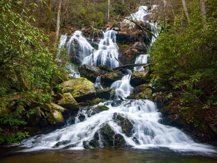 hike catawba falls - jeff gordon chevrolet - summer of chevy