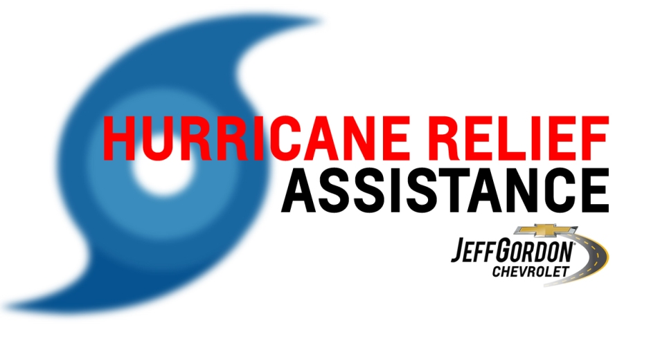 Hurricane Relief Assistance Available Now At Jeff Gordon